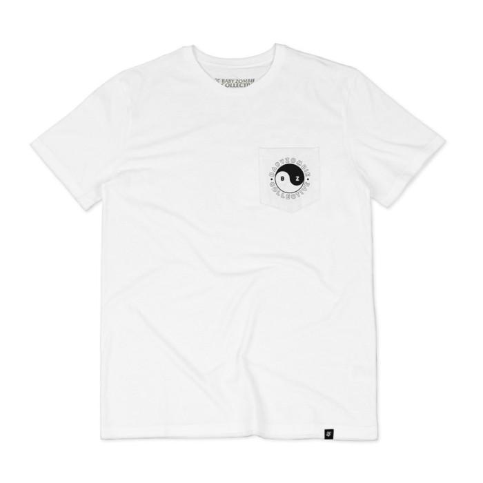 Foto Produk BABY ZOMBIE - Tshirt Yin Yang White dari Baby Zombie Co.