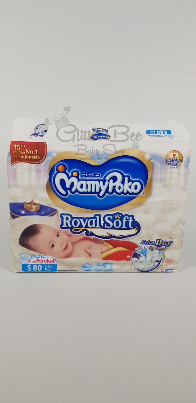 Foto Produk MamyPoko Royal Soft Perekat/Tape S (80) dari Glitter Bee