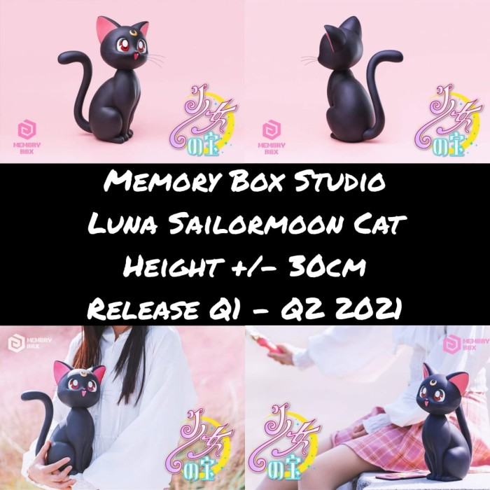 Jual Memory Box Luna Sailormoon Cat Resin Po Sailor Moon Jakarta Timur Wenwen Shop Tokopedia