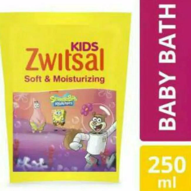 Foto Produk Zwitsal Kids Bubble Bath Pink 250ml Refill Sabun Mandi Cair Anak dari Nic Shop