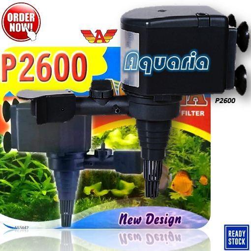 Jual Aquila P-2600 Pompa Celup Aquarium Submersible Water ...
