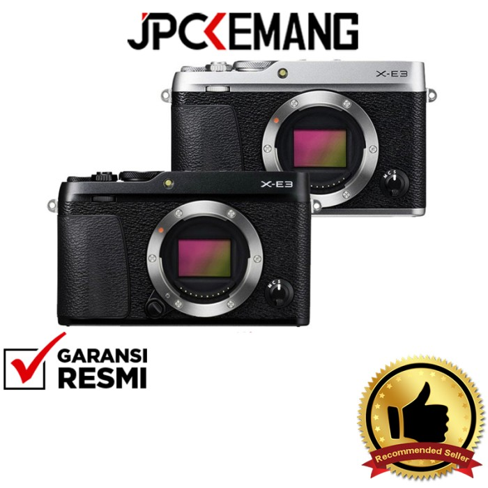 Foto Produk Fuji / Fujiiflm X-E3 / XE3 Body GARANSI RESMI - Hitam dari JPCKemang