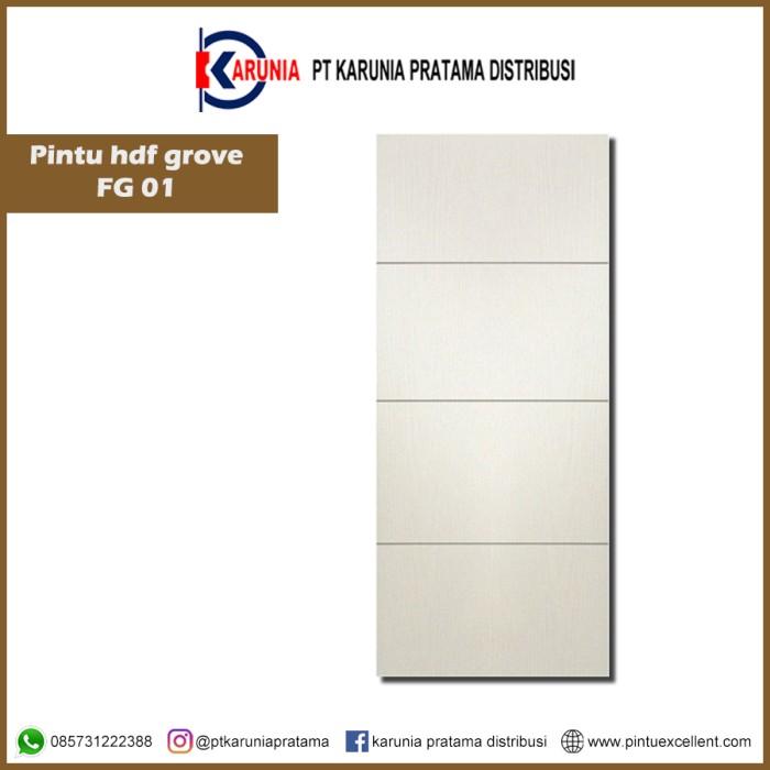 Foto Produk Pintu Excellent HDF Grove Series dari Pratama Karunia