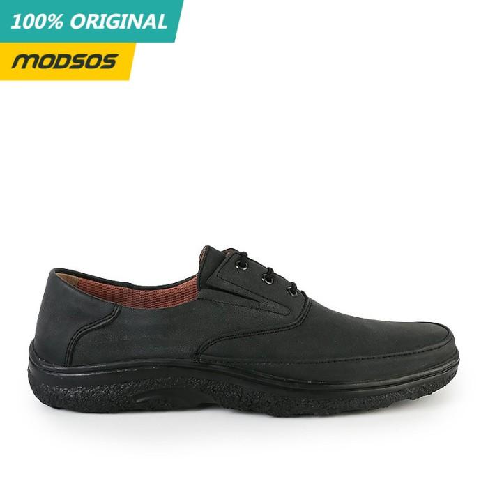 Foto Produk Sepatu Formal Pria Yongki Komaladi 206 Black Original dari Modsos