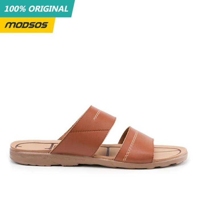 Foto Produk Sandal Pria Yongki Komaladi 207 Brown Original dari Modsos