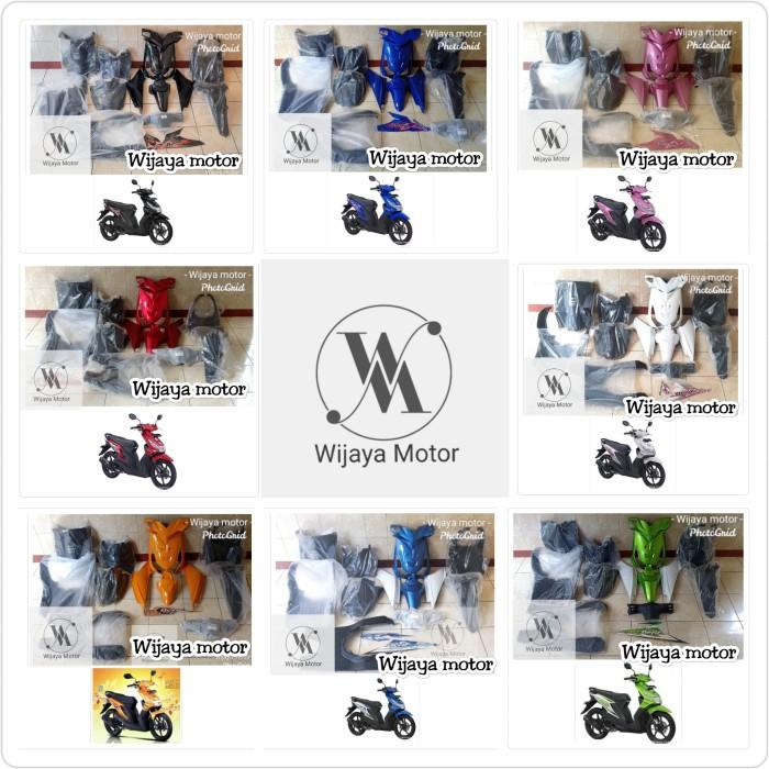 Foto Produk cover body bodi halus dan bodi kasar full set Honda beat karbu dari Wijaya~Motor