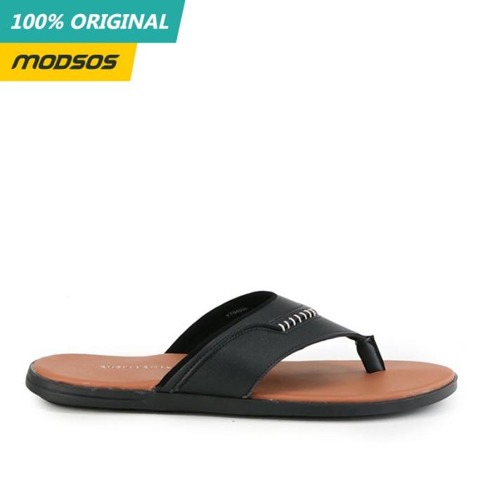 Foto Produk Sandal Pria Yongki Komaladi 204 Black Brown Original dari Modsos