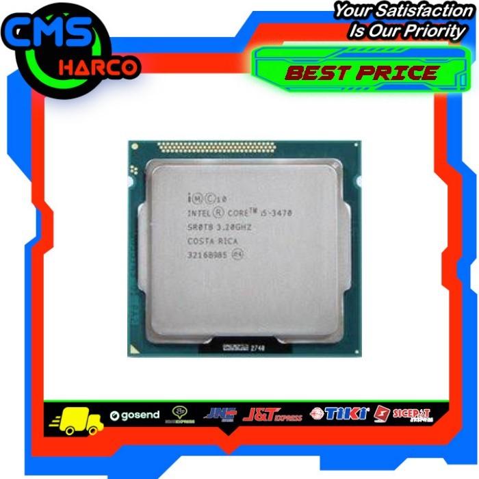 Foto Produk Intel Core i5-3470 [Tray] NON FAN Socket LGA 1155 dari CMS Harco Online