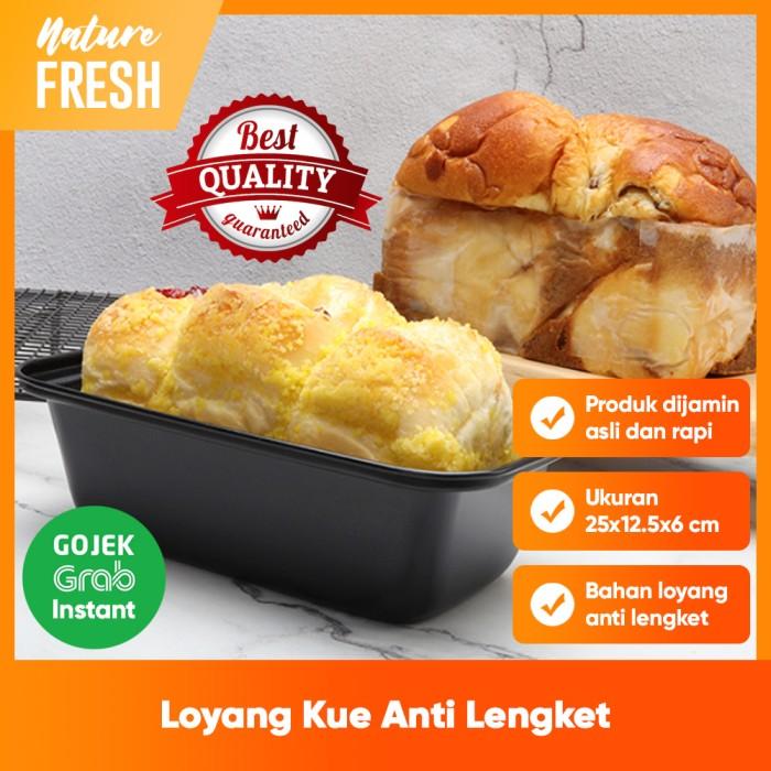 Promo Loyang Roti Tawar Cake Pan Bread Loaf Pan Roti Sobek Loyang Persegi Jakarta Utara Naturefresh Tokopedia