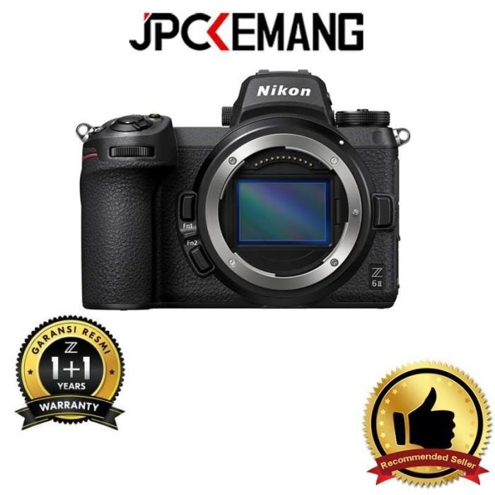 Foto Produk Nikon Z6 II Nikon Z6II Nikon Z6 Mark II Body Only GARANSI RESMI dari JPCKemang