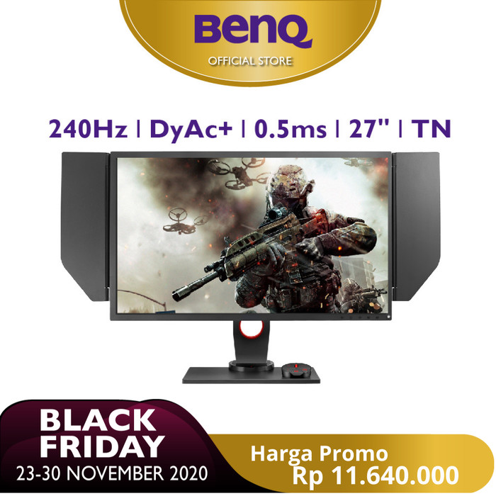 Foto Produk Monitor Gaming BenQ ZOWIE XL2746S 27 inch 240Hz 0.5ms Dynamic Accuracy dari BenQ Official Store