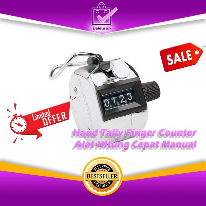 Foto Produk Hand Tally Alat Hitung Cepat Manual / Finger Counter 0552 dari Demurah Dot Com
