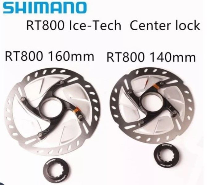 Foto Produk Shimano ultegra disc rotor rt800 160 dan 140 sepasang tanpa dus dari IndoWebstorecom
