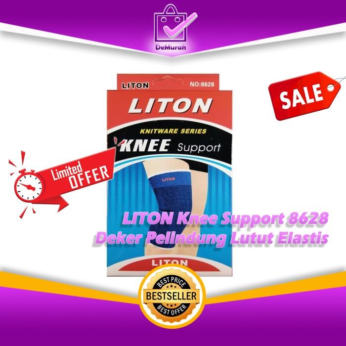 Foto Produk LITON Knee Support 8628 Deker Pelindung Lutut Elastis 0533 dari Demurah Dot Com