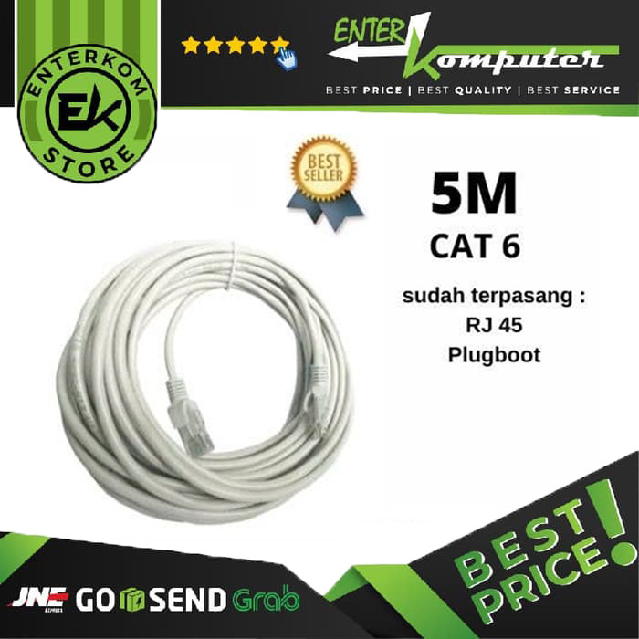 Bafo Kabel LAN CAT 6 5 Meter