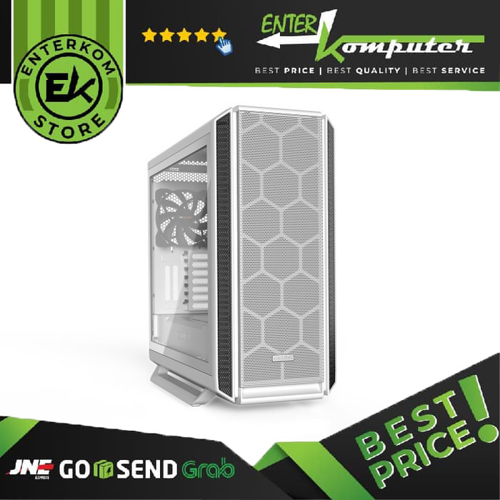 be quiet! Gaming Case SILENT BASE 802 White With Side Window