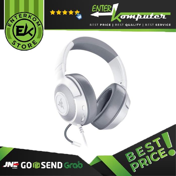 Razer Kraken X - Multi-Platform Wired Gaming Headset - Mercury Edition