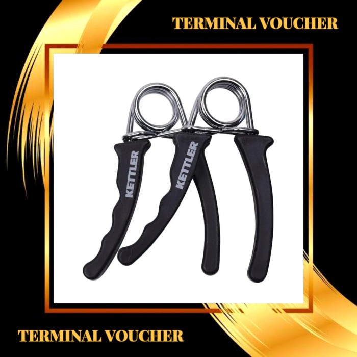Foto Produk Hand Grips Federgriffe Merk Kettler 0811 (sepasang) dari terminal voucher
