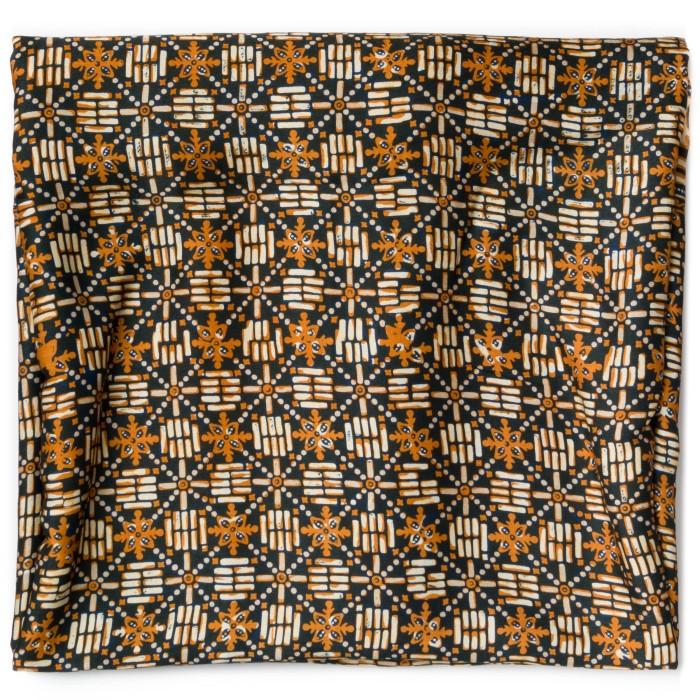 Foto Produk Kain Batik Cap Sutra Soga Motif Ceplok Bata dari Kainusa