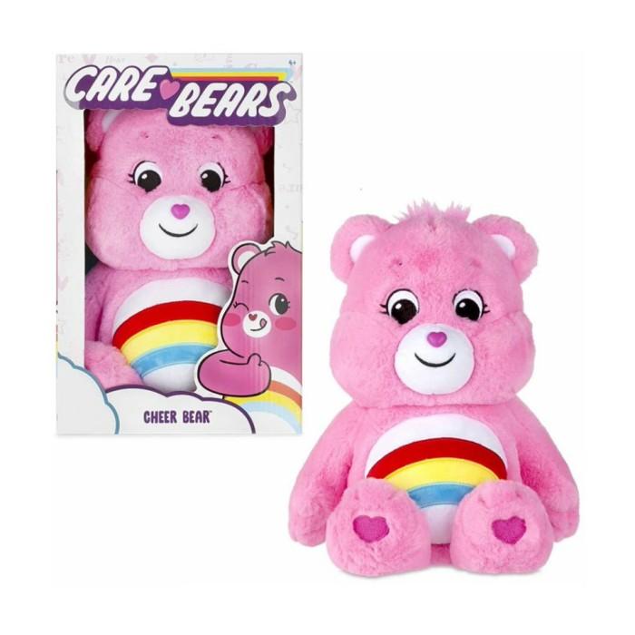 Message Recorder Stuffed Animals, Jual Care Bears Cuddly Big Stuffed Animal 36cm Cheer Bear Kota Medan Cookieegoodiee Tokopedia