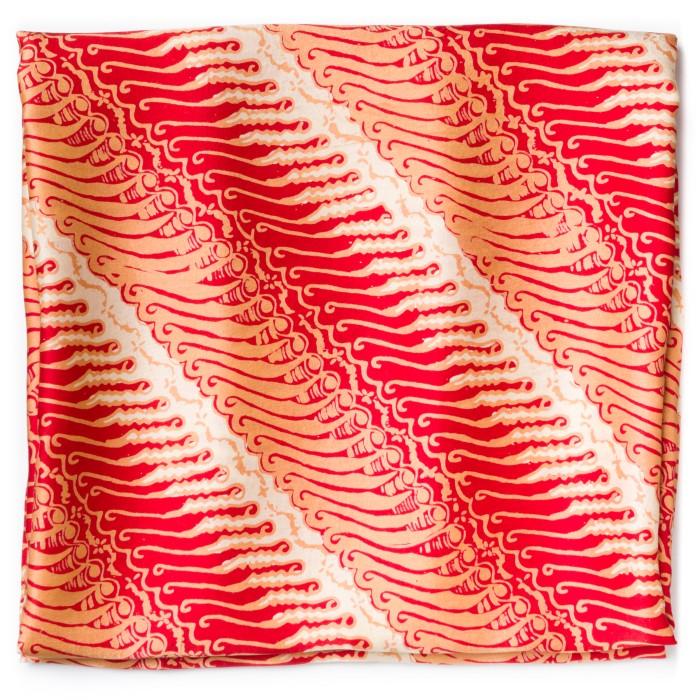 Foto Produk Kain Batik Cap Sutra Motif Parang Baris dari Kainusa