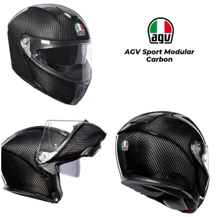Jual Agv Sport Modular Carbon Kota Bogor Markev Moto Equipment Tokopedia