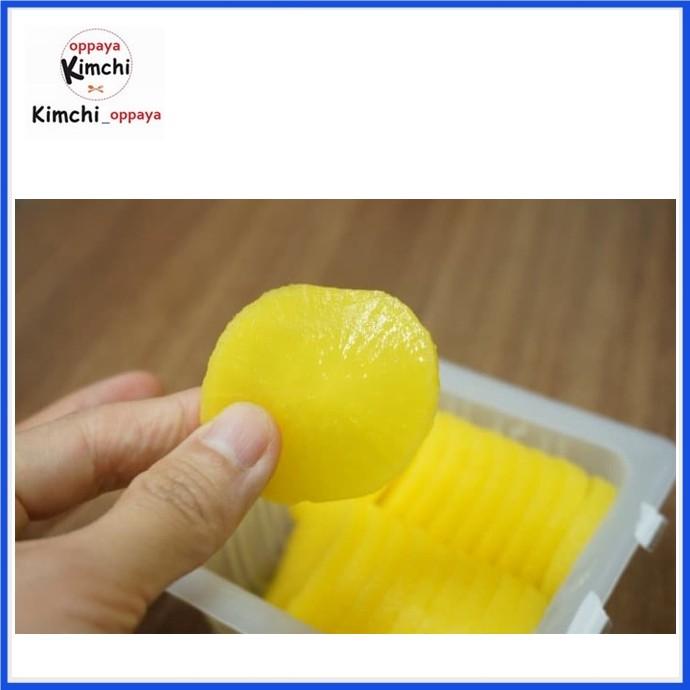 Foto Produk Danmuji Acar Lobak korea 400 gram homemade dari kimchi oppaya