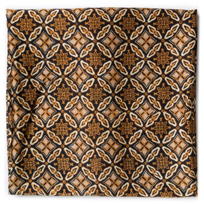 Foto Produk Kain Batik Cap Sutra Soga Motif Ceplok Sembagi dari Kainusa
