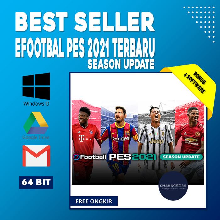 Jual eFOOTBALL PES 2021 Full Version | Console Game Bola ...