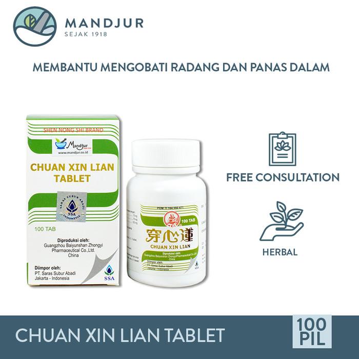 Foto Produk Chuan Xin Lian Tablet - Obat Herbal Anti Peradangan dari mandjur