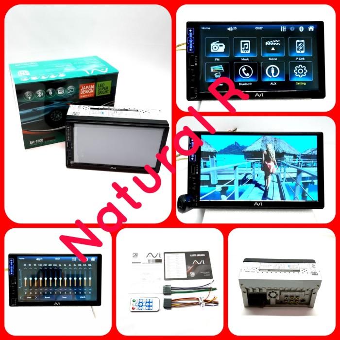 Foto Produk TV Mobil Doubledin Headunit AVI 1600 DS dari Natural R