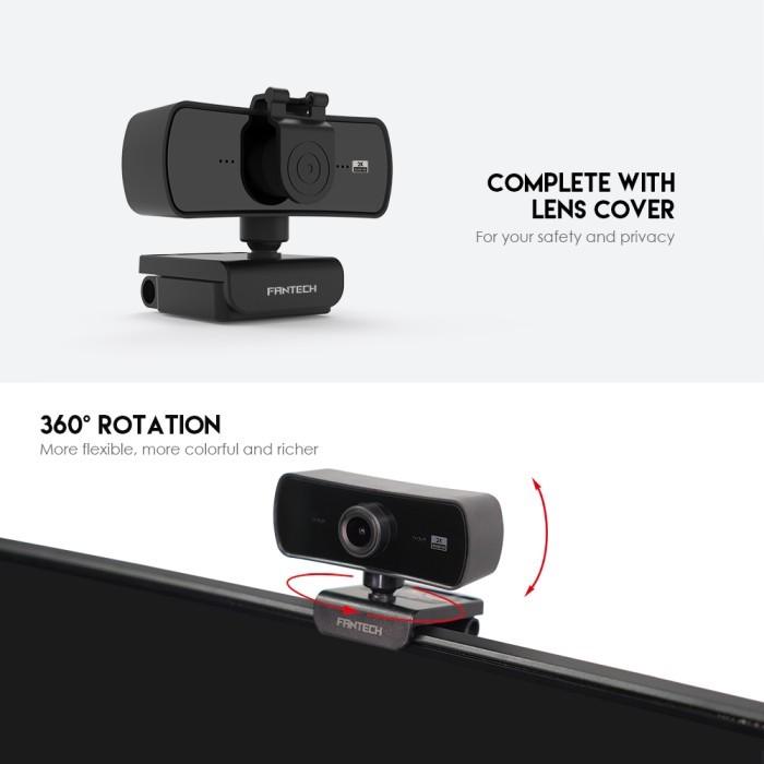 Jual Fantech Webcam 2K 4MP Luminous C30 QHD 1440P - Jakarta Pusat - sasabil | Tokopedia