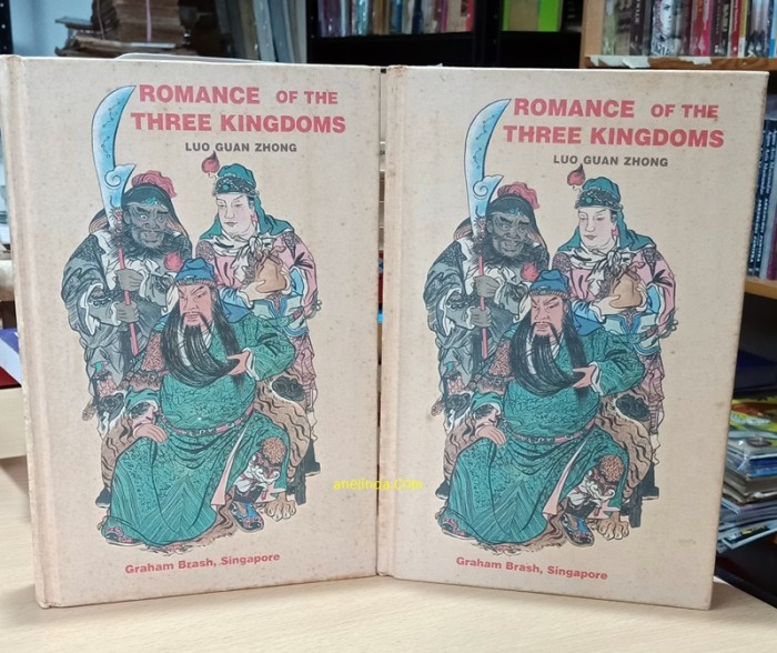 Foto Produk ROMANCE OF THE THREE KINGDOMS - LUO GUAN ZHONG (VOLUME I & II) dari Anelinda Buku Klasik