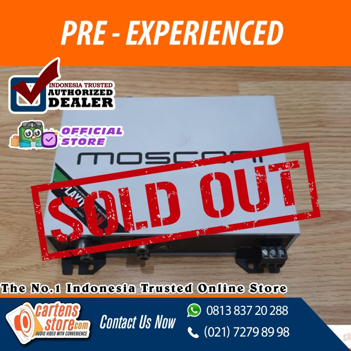 Foto Produk Processor - Mosconi 4to6 ( Pre-Experienced ) dari Cartens Store