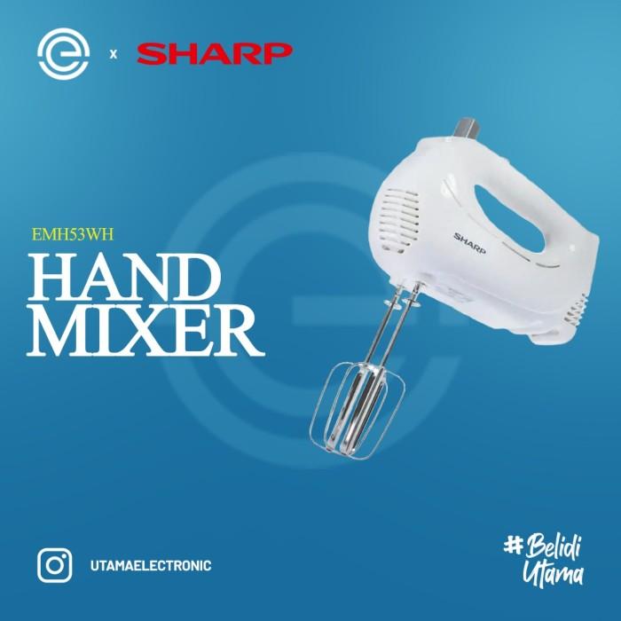 Foto Produk SHARP Hand Mixer - EMH53WH dari UTAMA_ELECTRONIC