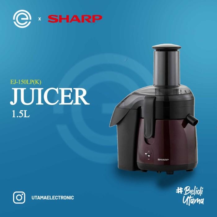 Foto Produk SHARP Juicer 1.5 Liter EJ-150LP(K) dari UTAMA_ELECTRONIC