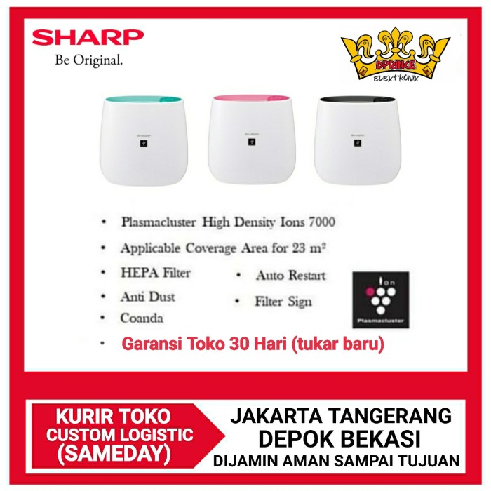 Foto Produk Sharp air purifier FP-J30Y-B/P/A [coverage 23M2] dari DPRINCE