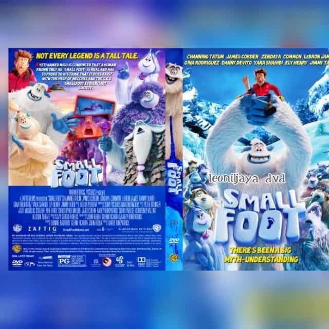 Jual Kaset Dvd Film Animasi Smallfoot 2018 Jakarta Barat Leoniljaya Dvd Tokopedia