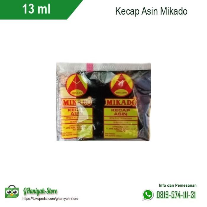 Foto Produk Kecap Asin Mikado Sachet 13 ml dari ghaniyah-store