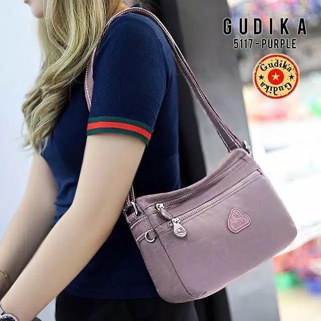 Foto Produk Tas Original GUDIKA 5117 Selempang Import terbaru - purple dari GUDIKA OFFICIAL STORE