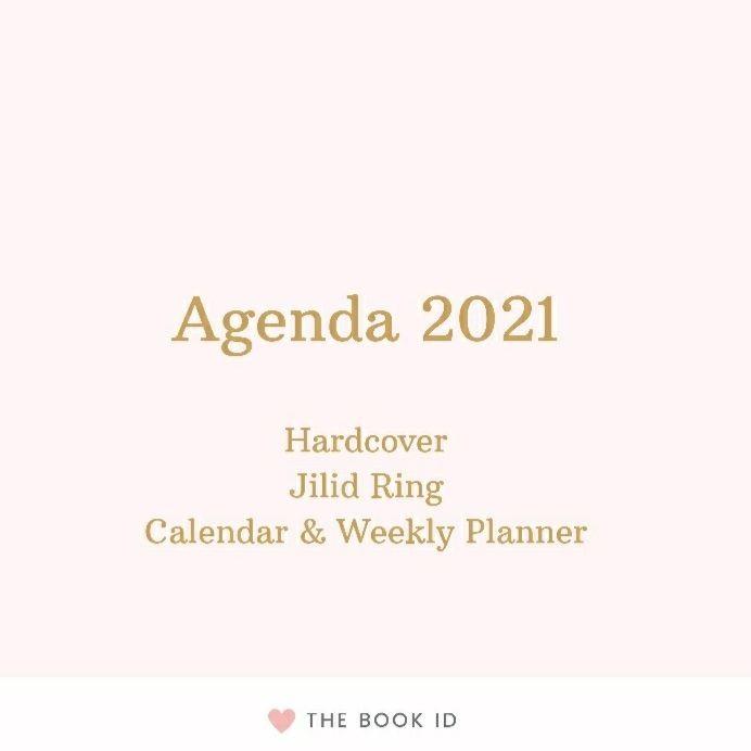 Foto Produk Agenda 2021 - Weekly Planner dari The Book ID