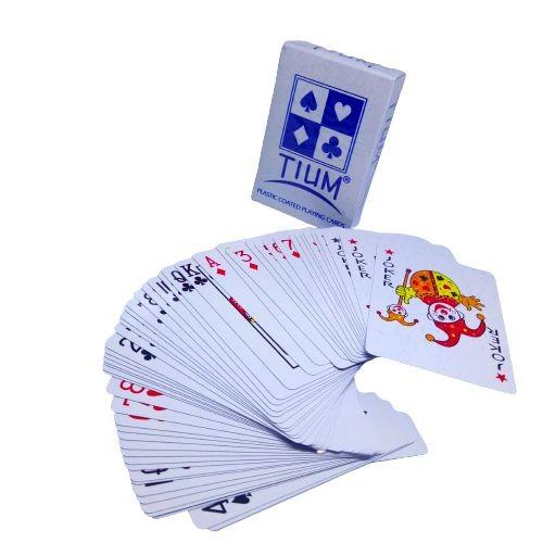 Jual Kartu Remi Poker Domino Remi Tium Biru Kota Surabaya Lancarstationery Tokopedia