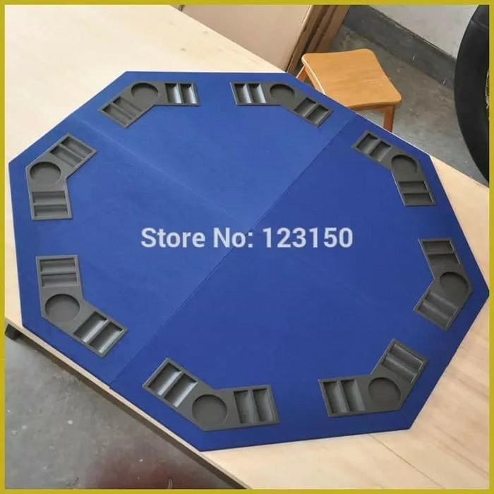 Jual Poker Table Top 120cm Blue Tabletop Mdf Material Four Fold Kota Tangerang Selatan Sambal Nona Manis Tokopedia