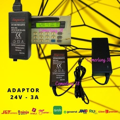 Foto Produk Switching Adaptor - Switching Power Supply Plastik 24V 3A dari Cemerlang 38