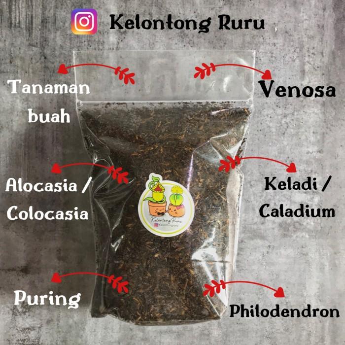Jual Media Tanam Stephania Venosa Philodendron Aroid 500 Gram Jakarta Barat Kelontong Ruru Tokopedia