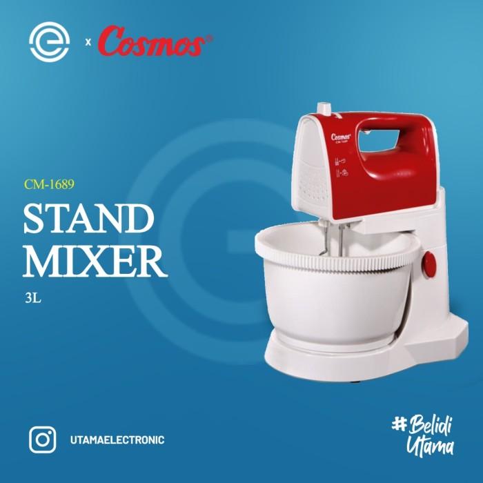 Foto Produk COSMOS Stand Mixer 3 Liter CM-1689 dari UTAMA_ELECTRONIC