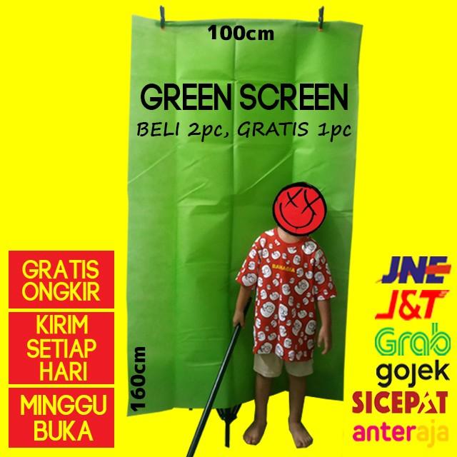 Foto Produk Green screen kain background hijau Murah Baru dari cokacase