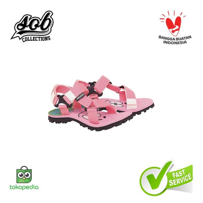 Foto Produk Sandal Sendal Sepatu CJr Casual Adventure Anak Perempuan Pink Original - 26 dari SOB Collection