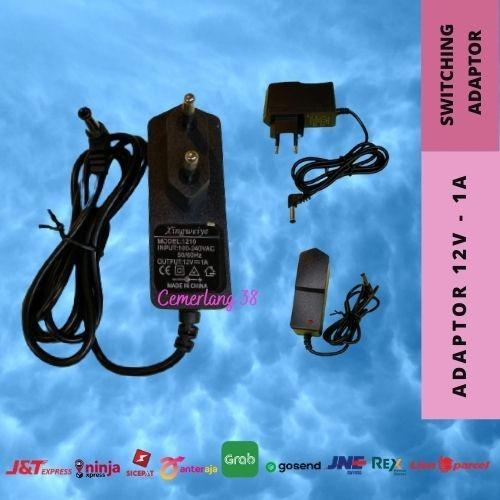 Foto Produk Switching Adaptor - Switching Power Supply Plastik 12V 1A dari Cemerlang 38