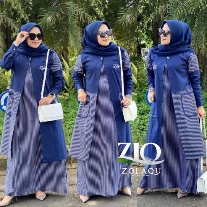 Jual Gamis Zolaqu Original New Motip Kota Bandung Syabiya Tokopedia